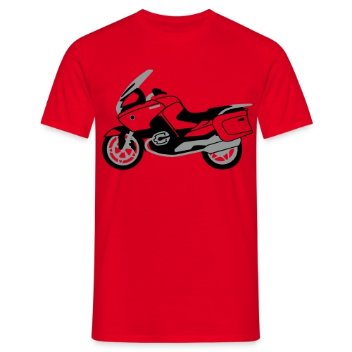 R1200RT Black Lowers (Red) - Men's T-Shirt