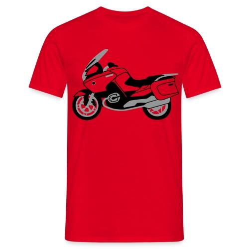 R1200RT Black Lowers (Red) - Men's T-Shirt