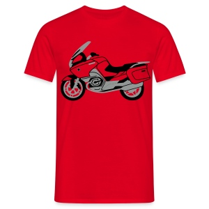 R1200RT Silver Lowers (Red) - Men's T-Shirt
