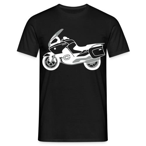 R1200RT Black Lowers (Black) - Men's T-Shirt