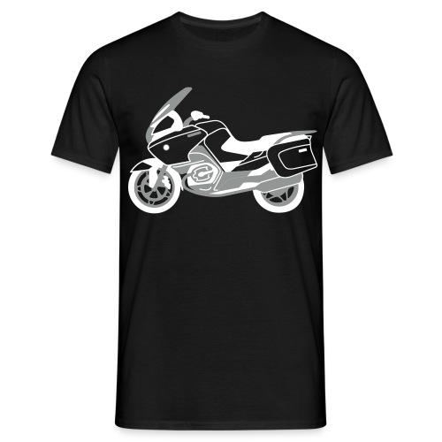 R1200RT Silver Lowers (Black) - Men's T-Shirt