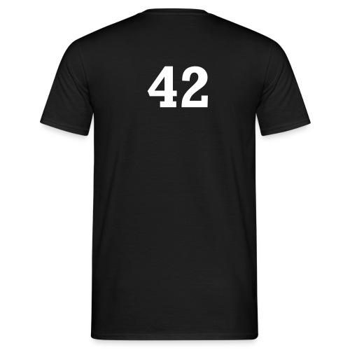 42 (back) - Men's T-Shirt