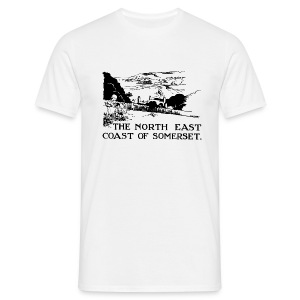 Somerset Coast - Comfort T - Men's T-Shirt