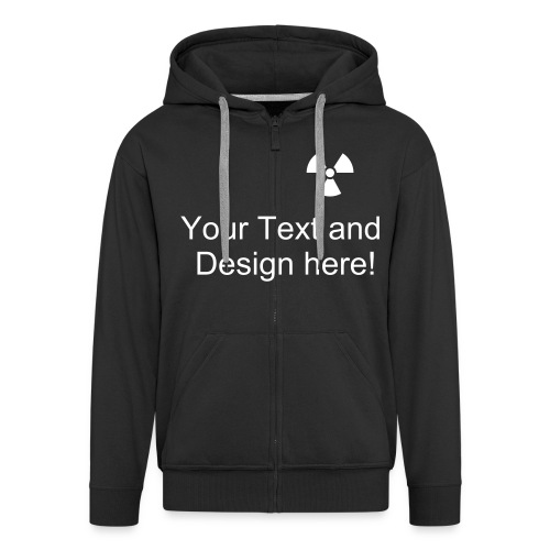 Custom Hooded Top - Men's Premium Hooded Jacket