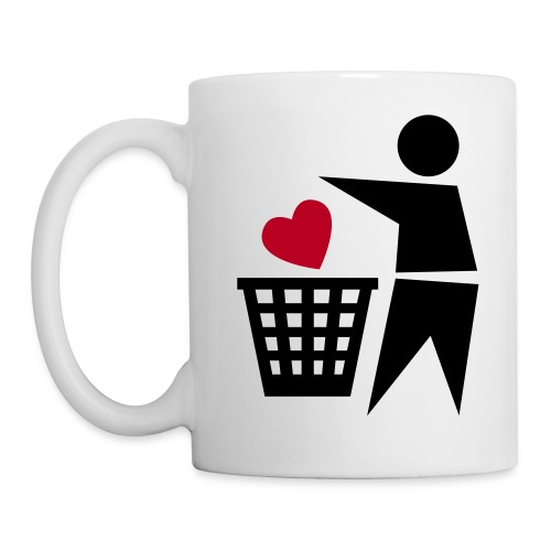 throw away love mug - Mug