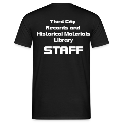 Third City Library Staff T-shirt - Men's T-Shirt