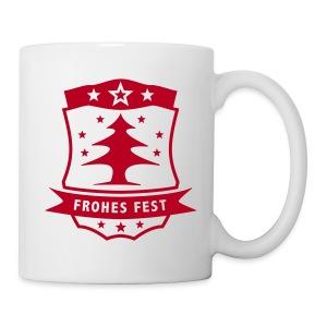 Frohes Fest Wappen - Tasse