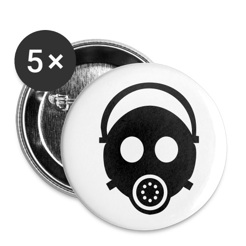 Badge petit 25 mm - badge masque a gaz,nucleaire