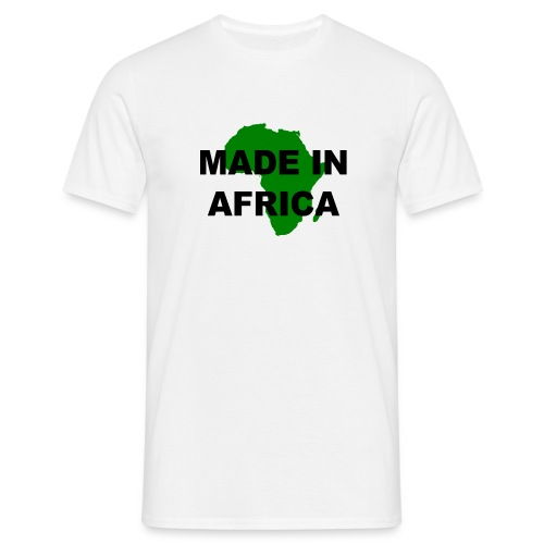 made in africa (man) - Men's T-Shirt