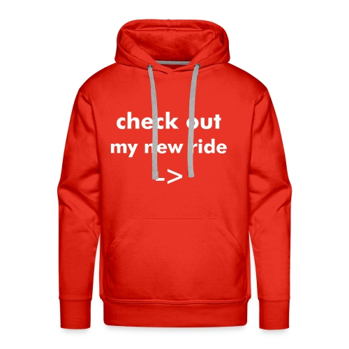 New Ride - Men's Premium Hoodie