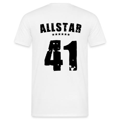 t-shirt allastar - Mannen T-shirt