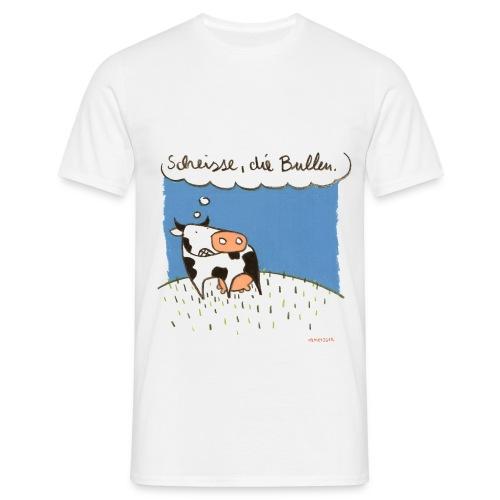 Scheisse, die Bullen - Männer T-Shirt