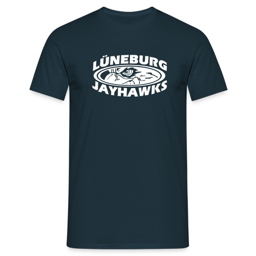 Jayhawks Hawkeye Front - Männer T-Shirt