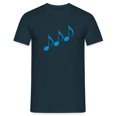 Navy Note - Music T-Shirts