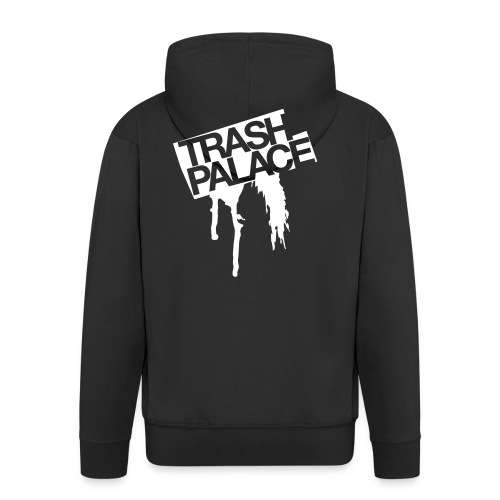 trash palace hoody black - Men's Premium Hooded Jacket