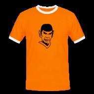 T-Shirts ~ Men's Ringer Shirt ~ STAR TREK Uniform T-Shirt