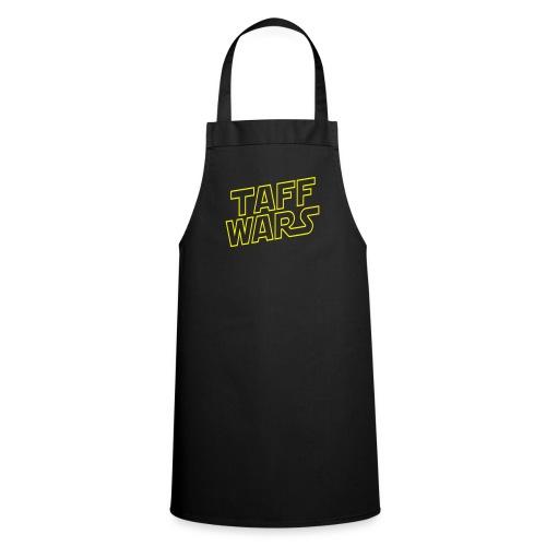 Taff Wars BLACK Cooking apron - Cooking Apron
