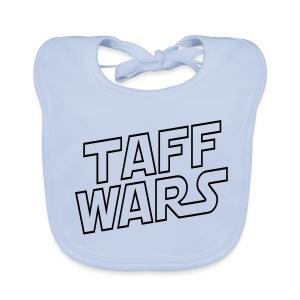 Taff Wars BLUE Baby Bib - Baby Organic Bib