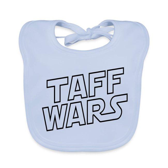Taff Wars BLUE Baby Bib