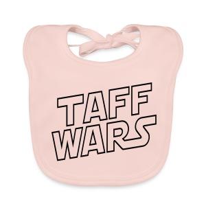Taff Wars PINK Baby Bib - Baby Organic Bib