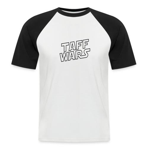 Taff Wars WHITE Raglan Shortsleeve - Men's Baseball T-Shirt