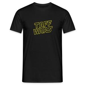 Taff Wars BLACK comfort t-shirt - Men's T-Shirt