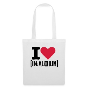 I love {in:audium] bag - Tote Bag