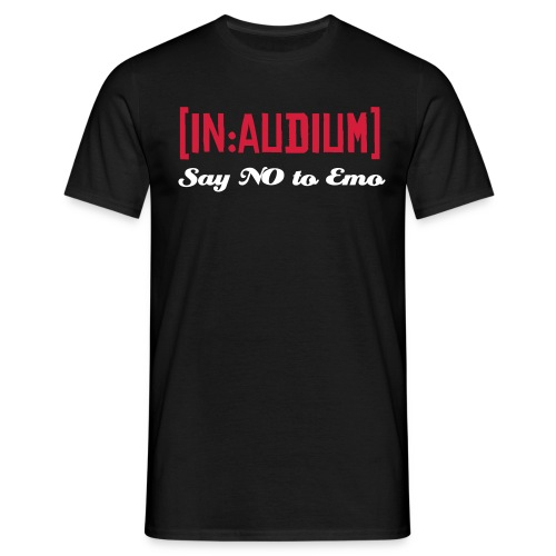 say no to emo t shirt - Men's T-Shirt
