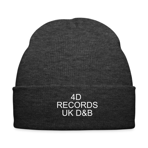 4D records beanie - Winter Hat