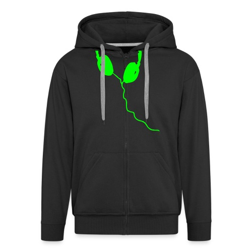Listen - Men's Premium Hooded Jacket