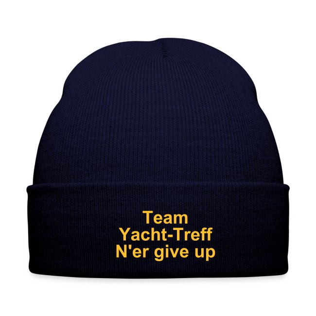 "Team Thermal Hat ""Never give up"""