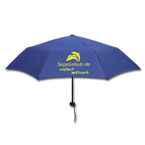 Segelurlaub Schirm einfach mitsegeln - Regenschirm (klein)