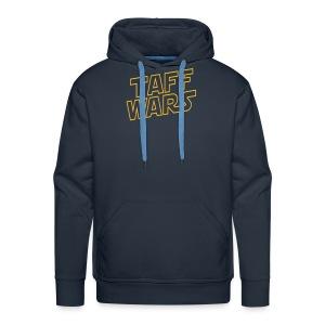 Taff Wars BLUE Hooded Sweat - Men's Premium Hoodie