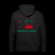 Sweaters ~ Mannen Premium hoodie ~ LiL hoodie/flock