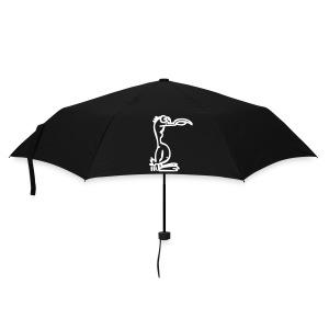 Silly Duck Umbrella blau/weiß - Regenschirm (klein)