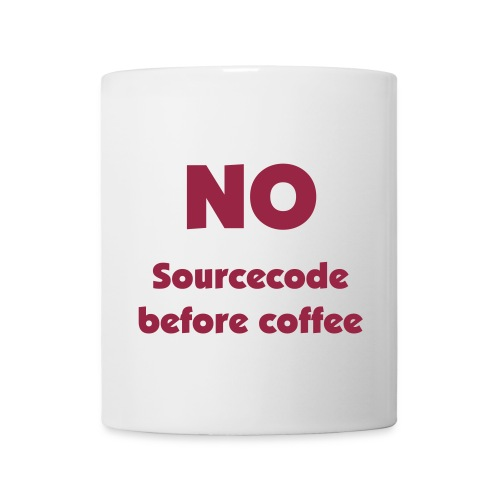 No Sourcecode - Tasse
