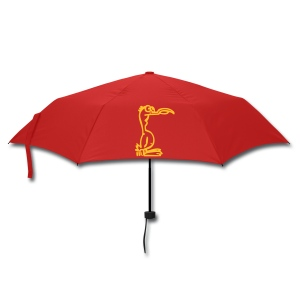Silly Duck Umbrella rot/gelb - Regenschirm (klein)