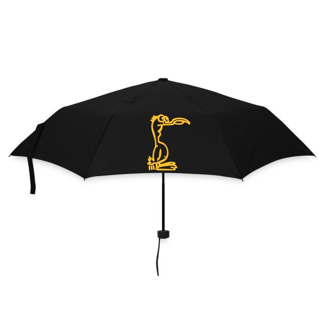 Silly Duck Umbrella rot/gelb