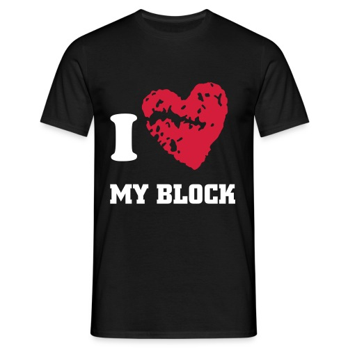 I love my block - T-shirt Homme