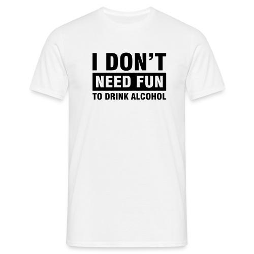 Alcohol Fun - Men's T-Shirt