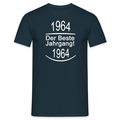 1964 Der Beste Jahrgang! Schrift Weiß - Männer T-Shirt