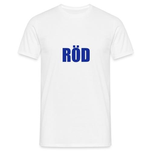Röd - Men's T-Shirt