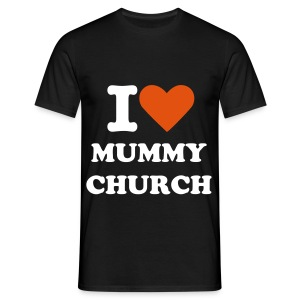 Dukes Heart Mummy Church Comfort T-Shirt - Men's T-Shirt