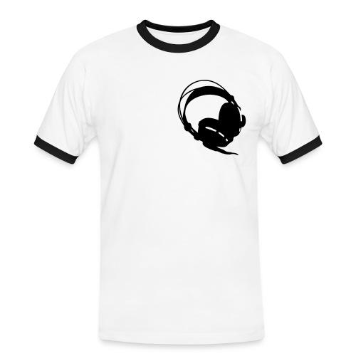 [M] T-Shirt DJ - Mannen contrastshirt