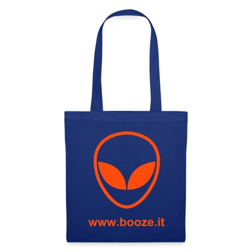 B-bag alien blue-orange 003 - Borsa di stoffa