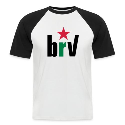 Rojiverde - Camiseta béisbol manga corta hombre