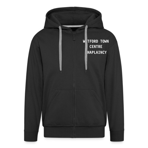 Black & White Chaplin Hoodie - Men's Premium Hooded Jacket