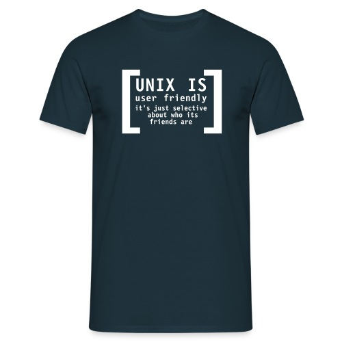 Unix is.. - boy-shirt - Männer T-Shirt