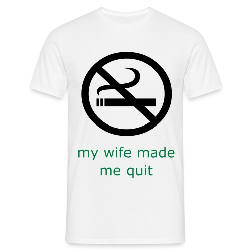 Smoker's Shirt - Men's T-Shirt