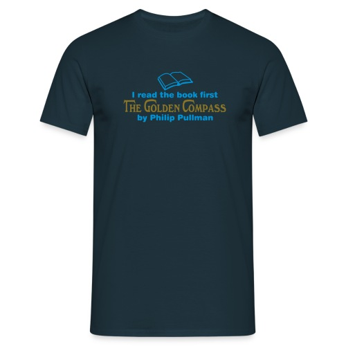 The Golden Compass (Read Book) Var Clrs - Men's T-Shirt